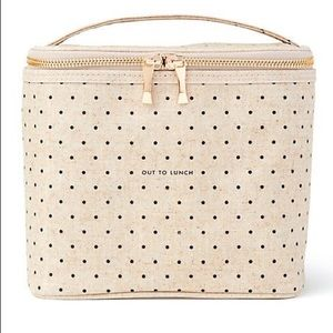Kate Spade, Out to Lunch, Deco Dot  Lunch Tote